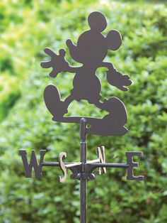 Mickey Mouse Weathervane- I have a place to put this! Casa Disney, Disney Rooms, Arte Disney, Disney Dream, Disney Style, Disney Love, Disney Magic, Mickey Mouse House, Mickey Minnie Mouse
