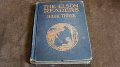 1930 The Elson Readers Book Three Vintage School by EtagereLLC, $22.00