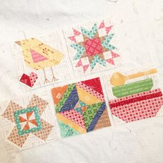 Bee In My Bonnet: Modern Minis Fabric - Almost Here!!! #iloverileyblake #moderminis #quiltblock