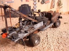 an old junkyard parts puller buggy