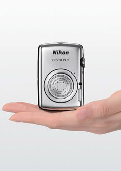 Coolpix S01 - Nikon's smallest digital camera