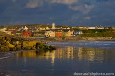 Lahinch, Ireland just south of the Cliffs of Moher and where I will spend a lovely day in August.