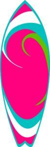Clip Art Surf Board Clip Art surfboard clip art vector online royalty free public pink teal online