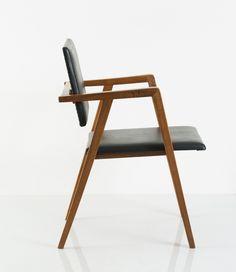 Los 119C107 - Prototyp Stuhl, um 1950 Albini, Franco Poggi, Mailand -> Auktion 119C - Text: deutsche Version