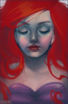 shi-painter ariel by `loish on deviantART