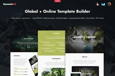 Global + Online Template Builder by DynamicXX on @creativemarket