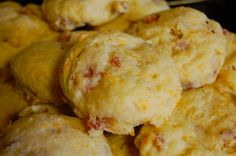 Country Ham and Cheese Biscuits 2