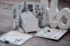 Baby 3D Explosion Box Glückwunschkarten