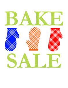 Cute Bake Sale Sign | Template | Pinterest | Bake sale sign, Bake ...