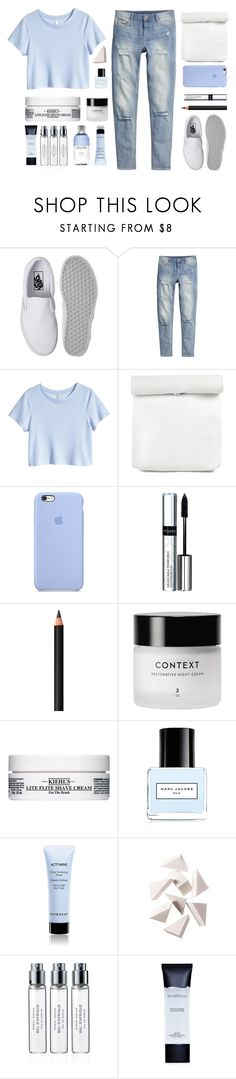 """Back At It Again"" by amazing-abby ❤ liked on Polyvore featuring Vans, H&M, By Terry, INIKA, Kiehl's, Marc Jacobs, Givenchy, Bobbi Brown Cosmetics, Byredo and Smashbox"