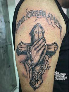 Cross tattoo www.vintatts.com