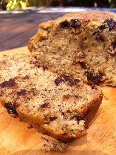 chocolate chip banana zucchini bread