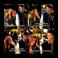 Nathan and Haley- One Tree Hill