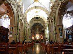 Interior de la Basilica de Chihuahua, Chih. México