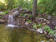 Joan's idea for rocks against my railroad ties... beautiful yard plans - Yahoo! Search Results