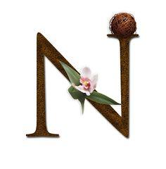 PAPIROLAS COLORIDAS: letras para Martin Eduardo Letter N, Bad Feeling, Typography, Paper Crafts, Clip Art, Symbols, Coffee Break, Empty, Decoupage