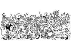 Emil - Christmas shopping - @ Detlef Surrey http://surrey.de/galerien/bilder-galerie/kategorie/emil-comic-strips-1988-91