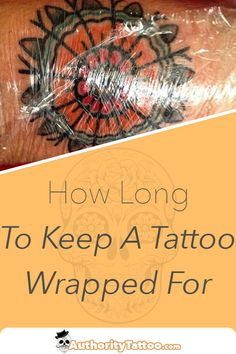 Wrapping a new tattoo is an important part of the healing process. This article . - Wrapping a new tattoo is an important part of the healing process. This article explains what you s -