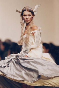 Kate Moss for Galliano, 1994