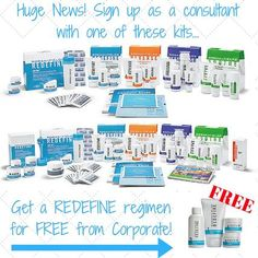 If you are interested in owning your own business, need additional monthly income and potential residual income, now is the time to join me in my Rodan+Fields journey!   ALL New U.S. and Canadian Consultants who enroll with the Big Business Launch Kit ($695) or the RFX Express Business Kit ($995) between Thursday, July 21, and Sunday, July 24, 2016 will receive a free REDEFINE Regimen (value $193) to be mailed separately.  On Skincare @ HelloBeautifulFun.com