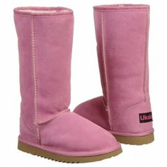 Ukala Sydney High Tod/Pre/Grd Boots (Pink) - Kids' Boots - 8.0 M