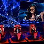 KATERYNA TSAR'KOVA DA THE LADY A THE VOICE OF ITALY - BOLLICINE VIP