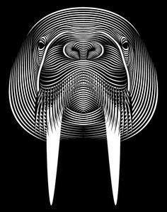 Simplesmente, FENOMENAL! O trabalho do ilustrador e designer gráfico, Patrick Seymour, que utiliza apenas linhas...de diversas maneiras; sejam elas em formas
