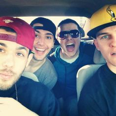 Josh Keith, Josh Leyva, Mikey Bolts, and JR Munoz <3 these guys omg there gorgeous