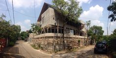 starting the finishing progress / flamboyant house / jakarta / august 2015 / by j+a