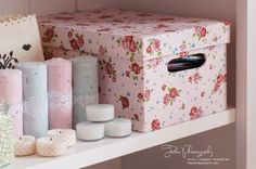DIY: Decopatch Storage Boxes | * Nicest Things - Food, Interior, DIY: DIY: Decopatch Storage Boxes