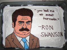 Ron Swanson Birthday Card 400 via Etsy gifts Pinterest