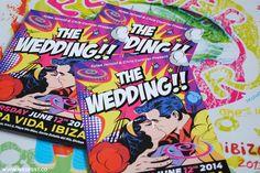 Ibiza Themed Wedding Invitations | WED FEST