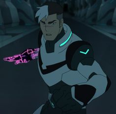 Shiro shows off his cyborg arm's capabilities as he defends one of his teammates against Sendak in a clip from Netflix's 'Voltron: Legendary Defender! Prince Lotor, Voltron Force, Takashi Shirogane, Shiro Voltron, Black Lion, Voltron Fanart, Form Voltron, Beautiful Person, Paladin