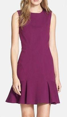 Diane von Furstenberg Jaelyn Ponte Sheath Dress