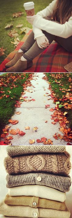 What we love about Fall.                                                                                                                                                     More