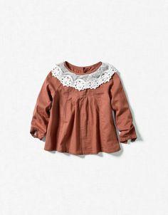 Baby Zara- love this precious top!