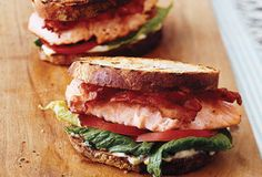 Keep the skin on salmon fillets for grilling to prevent them from falling apart.