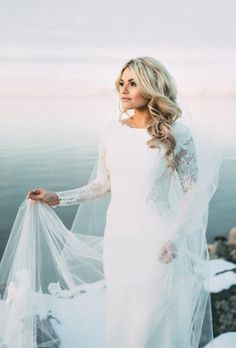 Witney Carson & Carson McAllister Share New Wedding Pics With JJJ (Exclusive): Photo Witney Carson is a seriously, stunning bride! The Dancing With The Stars pro tied the knot with Carson McAllister on New Year's Day (January at… Celebrity Wedding Dresses, Modest Wedding Dresses, Celebrity Weddings, Celebrity Wedding Photos, Witney Carson Wedding, Bridal Gowns, Wedding Gowns, Wedding Venues, Wedding Ceremony