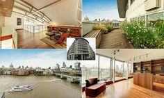Largest penthouse in London goes on sale for £8.9million