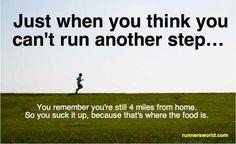 A little inspirational runner's humor haha