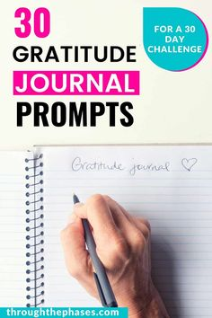 30 Gratitude Journal Prompts to Shift Your Perspective  Gratitude journaling can help to flip your perspective and develop a more positive mindset. These 30 daily gratitude journal prompts will help you find something to be thankful for everyday!  how to start a gratitude journal | start each day with a grateful heart | how to have a positive mindset | journal writing ideas #journalprompts #gratitude #positivemindset Gratitude Journal Prompts, Practice Gratitude, Feeling Happy, How Are You Feeling, Happy Names, Grateful Heart, Thankful, What Book, Positive Mindset