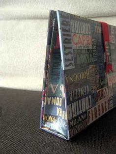 PASO A PASO: Cartera-bolso realizado con la técnica del cartonaje | Cartonaje Creativo by Ada