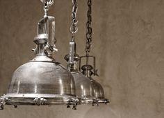 Metalen scheepslamp titanic | Woonland 299 euro p/st