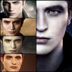 Edward Cullen though out the Twilight Saga
