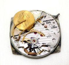Vtg Mens Hamilton Electric 500 Watch For Parts #Hamilton