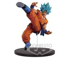 Figurine Dragon Ball Super Son Goku Fes! SSJ God Goku 20cm