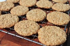 Eat these crispy vanilla flavored cookies on their own, or grind up and use in a cookie crust Have to change the flour - in Oz there is no such thing as G/F oat flour,- to figure