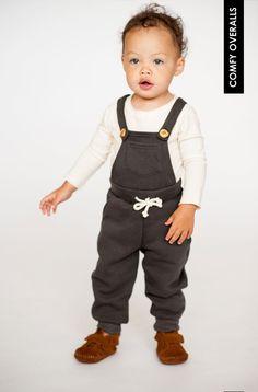 comfy overalls | mini mioche x heart & habit