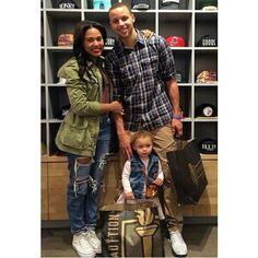 Like what you see⁉ Follow me on Pinterest ✨: @joyceejoseph ~ Ayesha, Steph, and Riley Curry