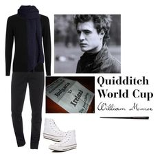 """""""Quidditch World Cup (Will)"""" by ateliana on Polyvore featuring Converse, Kenzo, I Love Mr. Mittens, men's fashion and menswear"""
